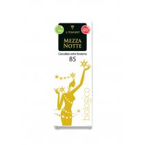 Ekstra tume mahešokolaad Mezza Notte 60gr. Kakao sisaldus min. 85%