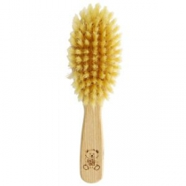 Beebide juuksehari pehmete harjastega (Sinise logoga)
